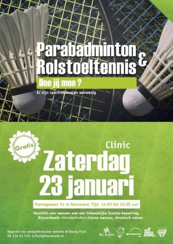 23 januari clinic