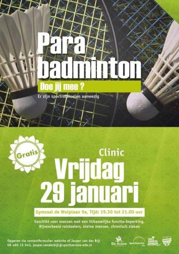 29 januari clinic