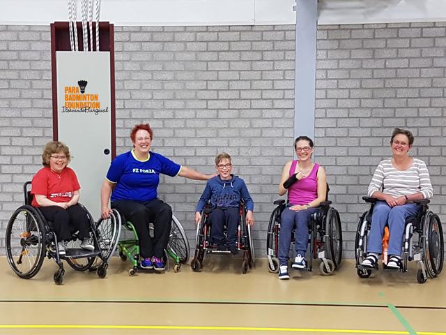 PlayersExperience 18 juni Para-Badminton Foundation Ilse van de Burgwal